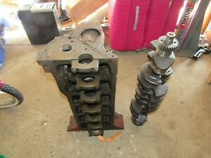 Hot Rod Rat Rod Inline 6 Chevy 292 Engine Motor Hdtd Block And Crank
