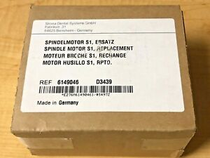 New Sirona Cerec Mcxl Mill Replacement Spindle Motor Spindelmotor S1 Ref 6149046