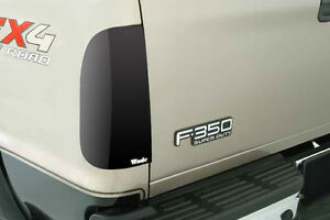 Smoke Tail Light Covers For 1987 1998 Ford Pickup F 350