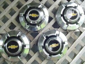 4 Vintage Chevrolet Chevy Blazer Van Pickup Truck Hubcaps Wheel Covers 16 In