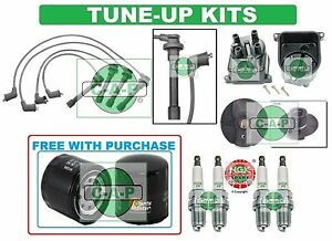 Tune Up Kits For 92 95 Civic Del Sol Spark Plugs Filter Wire Set Cap