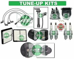 Tune Up Kits For 94 97 Civic Del Sol Spark Plugs Filters Wire Set Cap