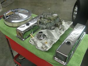 Vintage Edelbrock Intake For Small Chevy