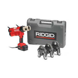 Ridgid 43368 Rp 340 Corded Press Tool Kit W propress Jaws 1 2 1