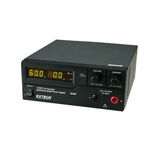 Extech Dcp60 220 Single Output Switching Dc Power Supply 220v Mains