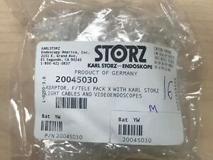 20045030 karl storz Adaptor for tele pack x w light cables and video Endoscope