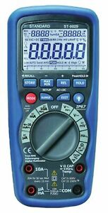 Ten01063 True Rms Industrial 1000v Ac dc Ip67 Waterproof Digital Multimeter
