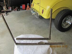 Antique Car Window Frame Garnish Molding Pieces Parts Or Restoration 4 Day Ret