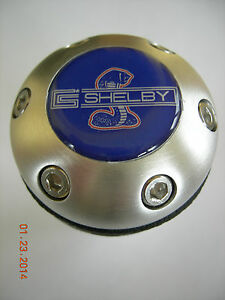 Shelby Cobra Mustang Aluminum Leather Gear Shift Knob Universal Ford Kit Car