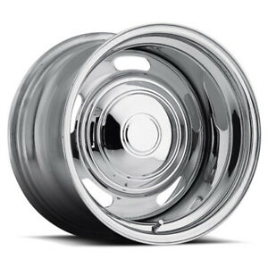 Cragar 373 Rally Rim 15x7 5x120 65 Offset 6 Chrome Quantity Of 1