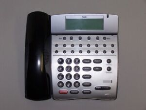 Nec Dterm80 dth 16d 2 Bk Tel Lcd Display Business Telephone
