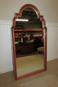 Vintage Baker Wall Mirror Bathroom Vanity Dresser Mirror With Mounting Wire