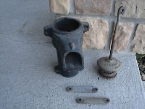 Antique Fairbury Windmill Co Fairbury Neb Cast Iron Pump Housing Very Good