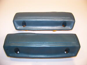 1966 70 Plymouth Dodge Rear Armrests Blue Satellite Coronet Belvedere 67 68