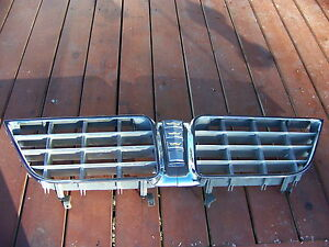 1963 Chrysler New Yorker Grill Nice Complete Oem