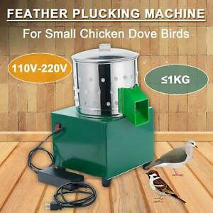 110v 220v Small Chicken Depilator Dove Feather Plucking Machine Poultry Plucker
