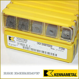 Cnga 432 T0820 Ky3500 Kennametal 10 Inserts Factory Pack 3252