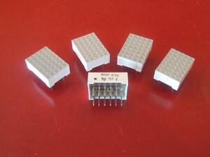 Hewlett Packard Hdsp 4703 Dot Matrix Display 5 Pcs New