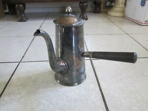 Wwii U S Navy Silver Plate Coffee Server