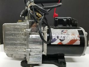 Jb Industries Dv 200n 7 Cfm 2 Stage Platinum Vacuum Pump Made In Usa