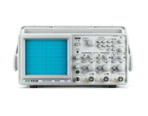 Iso tech 2 Channel 50mhz Monochrome Analogue Oscilloscope Isr6051
