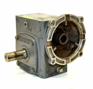 Boston Gear F72410b7g 10 1 Gearbox Speed Reducer Worm gear 700 series 968 lbin