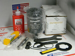 New Tapmatic 50x Tapping Attachment 5 8 1 2 Shanks 2 Collets wrenches