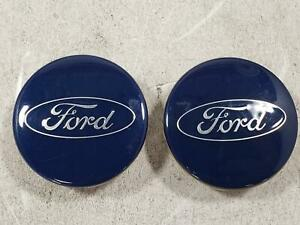 2016 Ford Focus Two Center Caps 6m21 1003 aa Oem