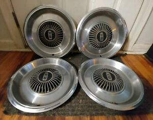 Set Of 4 Oem 1979 87 Mercury Grand Marquis Colony Park 14 Hubcaps Wheel Covers