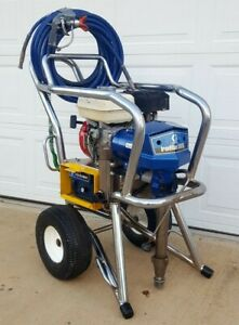 Graco Ironman 500g Gas Airless Paint Sprayer texspray Hd Gmax Ii 7900