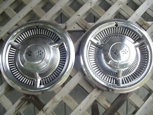Vintage 1958 58 Chevrolet Chevy Belair Impala Nomad Biscayne Hubcaps Wheel Cover