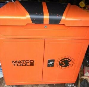 Matco Tools Orange Rolling Box Chest Large Storage Mechanic Drawers With Top