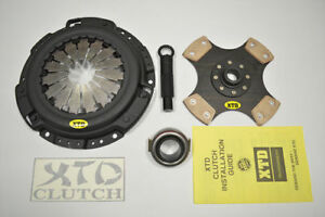 Xtd Stage 5 Racing Clutch Kit Prelude Accord 2300lbs H22 H23 F22 F23 rigid