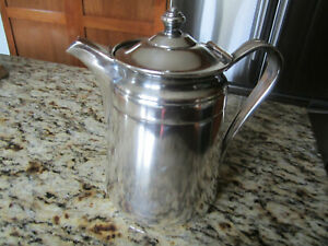 Antique Reed And Barton Silver Soldered Pitcher 2858