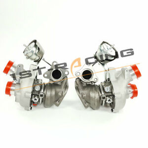 Twin Turbos 0469 0470 For 2013 Ford F 150 Transit Expedition Navigator 3 5lpair