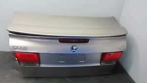 99 03 Saab 9 3 93 Convertible Rear Trunk Lid Deck Lid Assembly With Spoiler