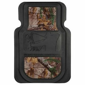 Major League Bowhunter Realtree Camo Floor Mats Pair Auto Car Truck Mlb