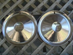 1953 1954 Studebaker Champion Commander Starliner Starlight Hubcaps Wheel Covers