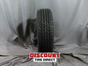 1 Used 235 75r R15 Vogue Classic White Wall Tire