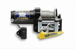 Two 2 Superwinch Atv Winch 2000 Lbs 5 32 x50 Line Roller Fairlead Power Out