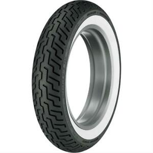 Dunlop D402 Touring Tire Mt90b 16 Bias Ply Whitewall 302291 Each Front