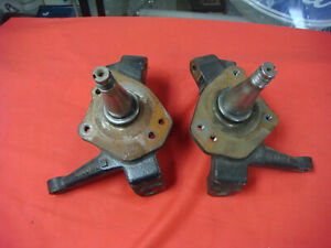 Ford Mustang 2 Front Spindles 2 Inch Drop Spindles Pinto Race Car Rat Rod Drag