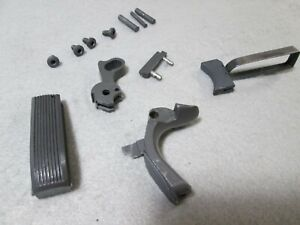 Gray Hammer Mainspring Housing Trigger Screws Grip Safety Pins for 1911