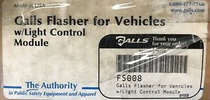Galls Fs008 Alternating Headlight Flasher New In Box Never Used
