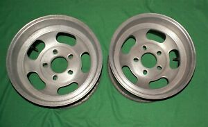 Vintage Fenton 15x8 5 Slot Mag Wheels Chevy Blazer Ford Jeep 5x5