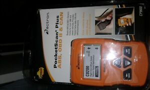 Actron Pocketscan Plus Abs Obd Ii Can Cp9660