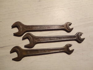 Vintage Hazet V 10 Little A Big A Spanner Wrench 8 12mm 8 13 Mm