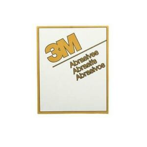 3m 02545 P180a 9x11 Resinite Abrasive Gold Sand Paper Lot Of 33 Sheets