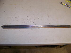 1968 Chrysler Imperial Left Front Fender Trim Oem Upper