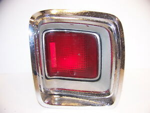 1969 Plymouth Gtx Sport Satellite Taillight Assy Oem 2930264 2930271 Rh